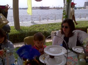 Mad Hatter's tea party in Dubai